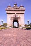 Laos. Landmark in building laos city Royalty Free Stock Image