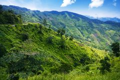 Laos landscape Stock Photography