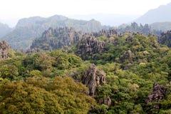 Laos, Landschaft in den Bergen stockfotografie