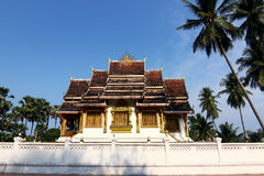 laos luang muzealnego pałac prabang królewska świątynia Obrazy Stock