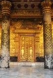 Laos: Luang Prabang är Laos klosterbroder- och negro spiritualhuvudstad och Royaltyfria Bilder