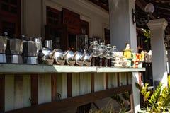 Laos Luang Prabang Prętowy kontuar zdjęcie royalty free
