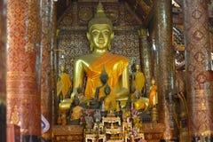 laos luangprabang Arkivbilder