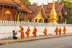 laos luangprabang Royaltyfria Foton