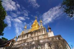 laos luangprabangphu si Royaltyfri Fotografi