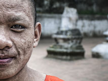 Laos Monk-abstract Stock Image