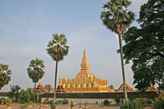 Laos Monument Royalty Free Stock Image