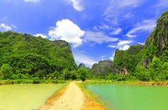 Laos in paradise Royalty Free Stock Photo