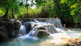 Laos People's Democratic Republic, Luang Prabang - 7 May: sever Royalty Free Stock Images
