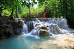 Laos People's Democratic Republic, Luang Prabang - 7 May: sever Royalty Free Stock Image