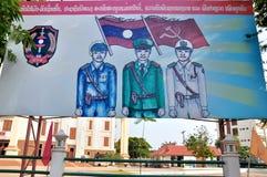 Laos Poster Stock Image