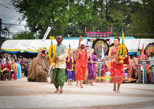 Laos Show Dance of Mask Royalty Free Stock Images