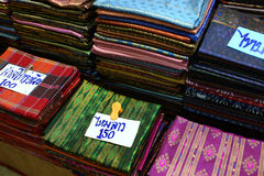 Laos silk ,handmade Product Stock Images