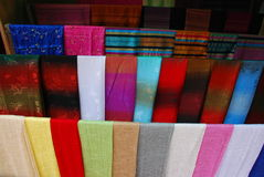 Laos Silk Royalty Free Stock Images