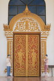 Laos style door. 