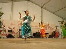 Laos-Tänzer Stockfotografie