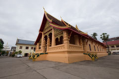 Laos-Tempel Stockfotos
