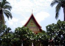 Laos temple. Temple, Savannakhet, Laos stock photos
