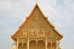 Laos temple Stock Images