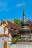 Laos temple Royalty Free Stock Photography