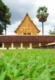Laos Temple in Vientiane ,  capital of Laos Stock Photo