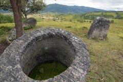 Laos, valle del jarro Fotografía de archivo libre de regalías