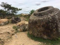 Laos, valle del jarro Imagen de archivo