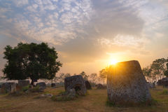 Laos, valle del jarro fotos de archivo