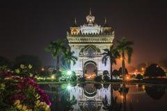 laos vientiane Arkivbild