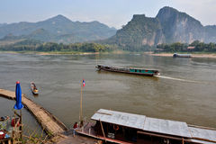 Laos Vientiane Luang Prabang Buddhism. Travel through historical places in Laos royalty free stock images