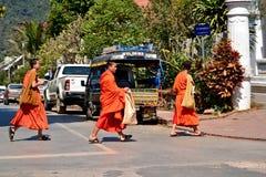 Laos Vientiane Luang Prabang Buddhism. Travel through historical places in Laos royalty free stock photo