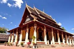 Laos Vientiane Luang Prabang Buddhism. Travel through historical places in Laos royalty free stock photos
