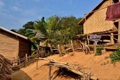 Laos Vientiane Luang Prabang buddism Arkivfoton