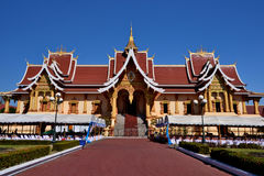 Laos Vientiane Luang Prabang buddyzm zdjęcia royalty free