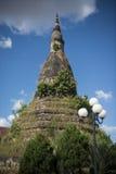LAOS VIENTIANE NAM PHU stupa KTÓRY OGROBLA Obraz Stock