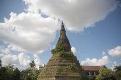 LAOS VIENTIANE NAM PHU stupa KTÓRY OGROBLA Obraz Royalty Free
