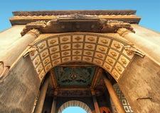 Laos, Vientiane - Patuxai Arch monument Royalty Free Stock Images
