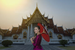Laos woman Royalty Free Stock Images