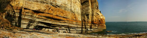 Laoshan beautiful scenery in China  The beauty of. The beauty of the scenery in qingdao of china Stock Images