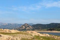 Laoshan hill in Qingdao Royalty Free Stock Photo