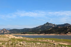 Laoshan hill in Qingdao Royalty Free Stock Image