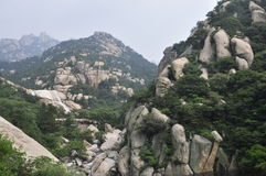 Laoshan Moutain Royaltyfri Foto