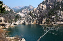Laoshan-moutain Lizenzfreies Stockbild
