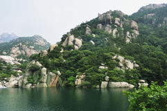 Laoshan Moutain landscape Royalty Free Stock Photos