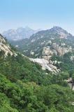 Laoshan Moutain landscape Stock Image