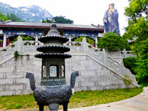 Free Laoshan Taiqinggong Laozi Statue Stock Image - 96329391