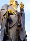 Laoshan Taiqinggong Laozi statue Stock Image