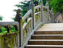 Laoshan Taiqinggong stone stairs Stock Photography
