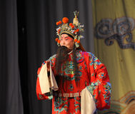 Laosheng-Beijing Opera: Chu Han contention Stock Photos
