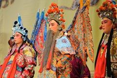Laosheng-Beijing Opera: Chu Han contention. Nanchang - May 17th: Jiangxi Peking Opera Troupe of Chu Han contention China in  Nanchang theatre in May 17, 2014 Royalty Free Stock Image